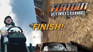 😂 Как затащить гонку на одном боку? Лайфхак от Сония в FlatOut: Ultimate Carnage