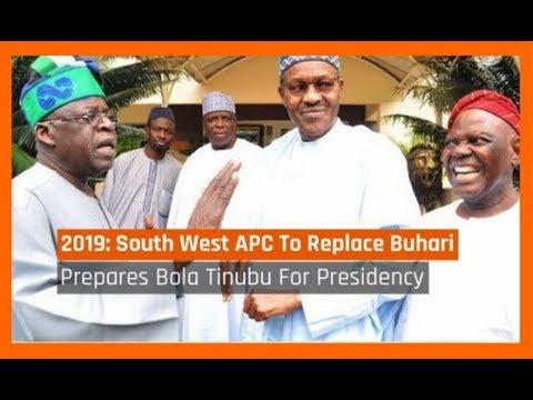 Nigeria News Today: 2019: South West APC To Replace Buhari With Tinubu (15/10/2017)