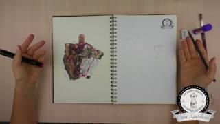 Упражнение на креативность для дизайнеров. Скетчбук.