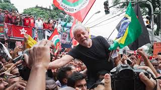 Discurso de Lula após liberdade.