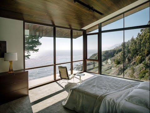 Красивый Интерьер Дома с Большими Окнами / Панорамные Окна / Panoramic Windows /