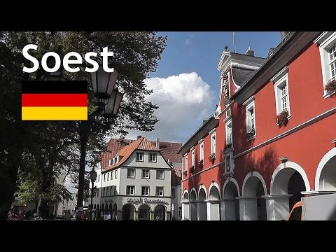 GERMANY: Soest town (Sauerland) [HD]
