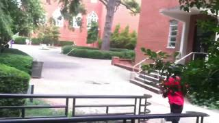 Parkour and Running on Ecu Campus