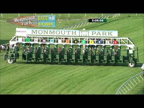 video thumbnail for MONMOUTH PARK 09-07-20 RACE 10