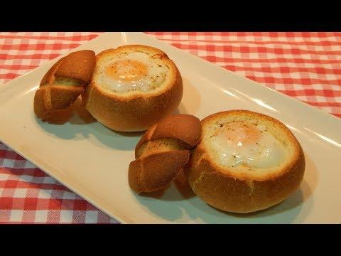 Cómo hacer huevos al nido receta fácil y rápida