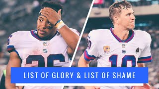 Recap Of The Giants & Eagles | The New York Giants Fall To 1-5 , Worst Record In The NFL