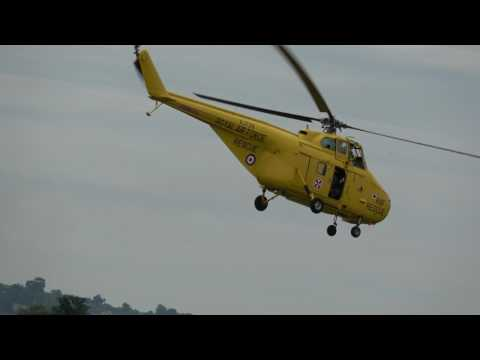 westland whirlwind yeovilton airshow 2017
