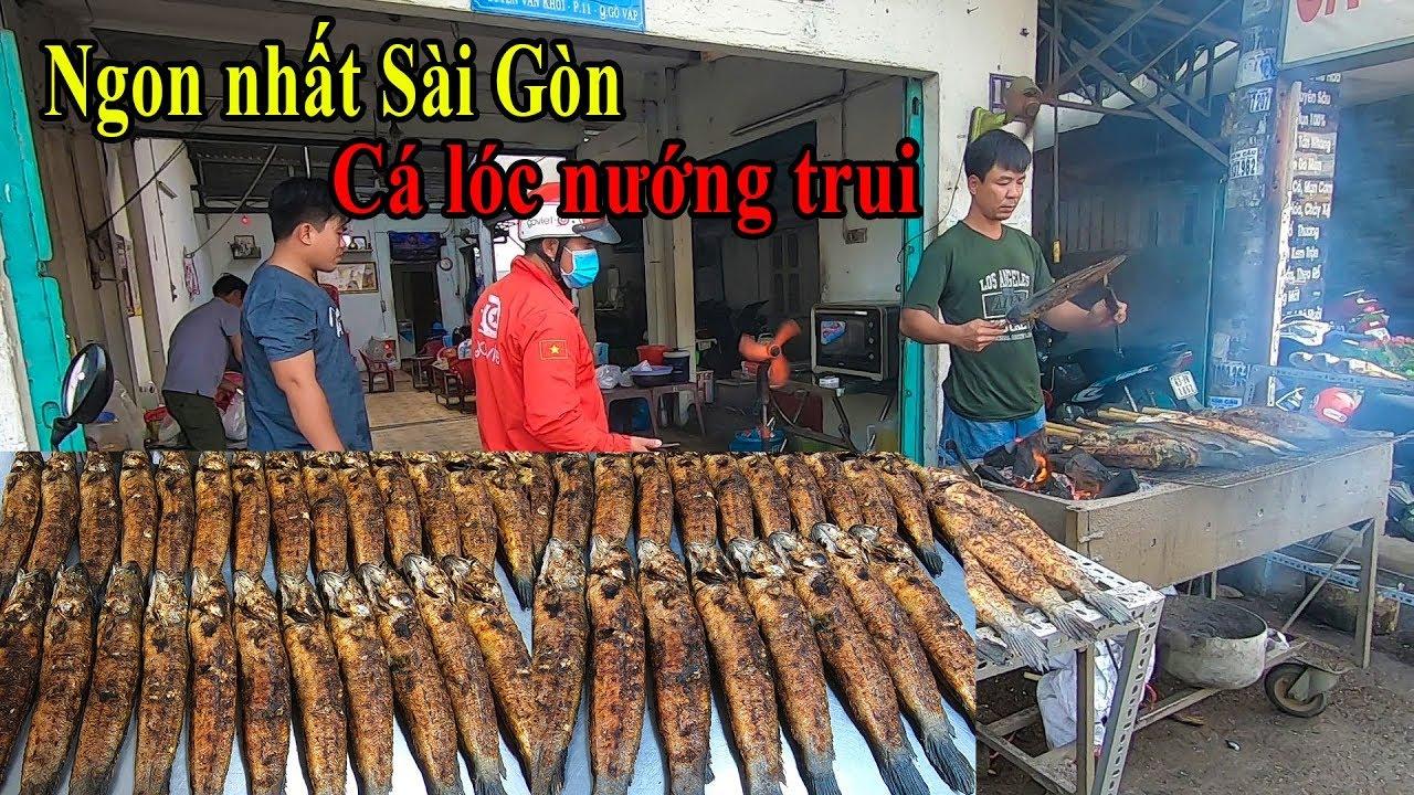 Cá lóc nướng mía siêu ngon chỉ 150k ngày vía Thần Tài ở Sài Gòn