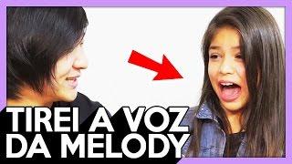 HIPNOSE : MC MELODY , TIREI A VOZ DELA ! (com Gabriela Melody ) - 270
