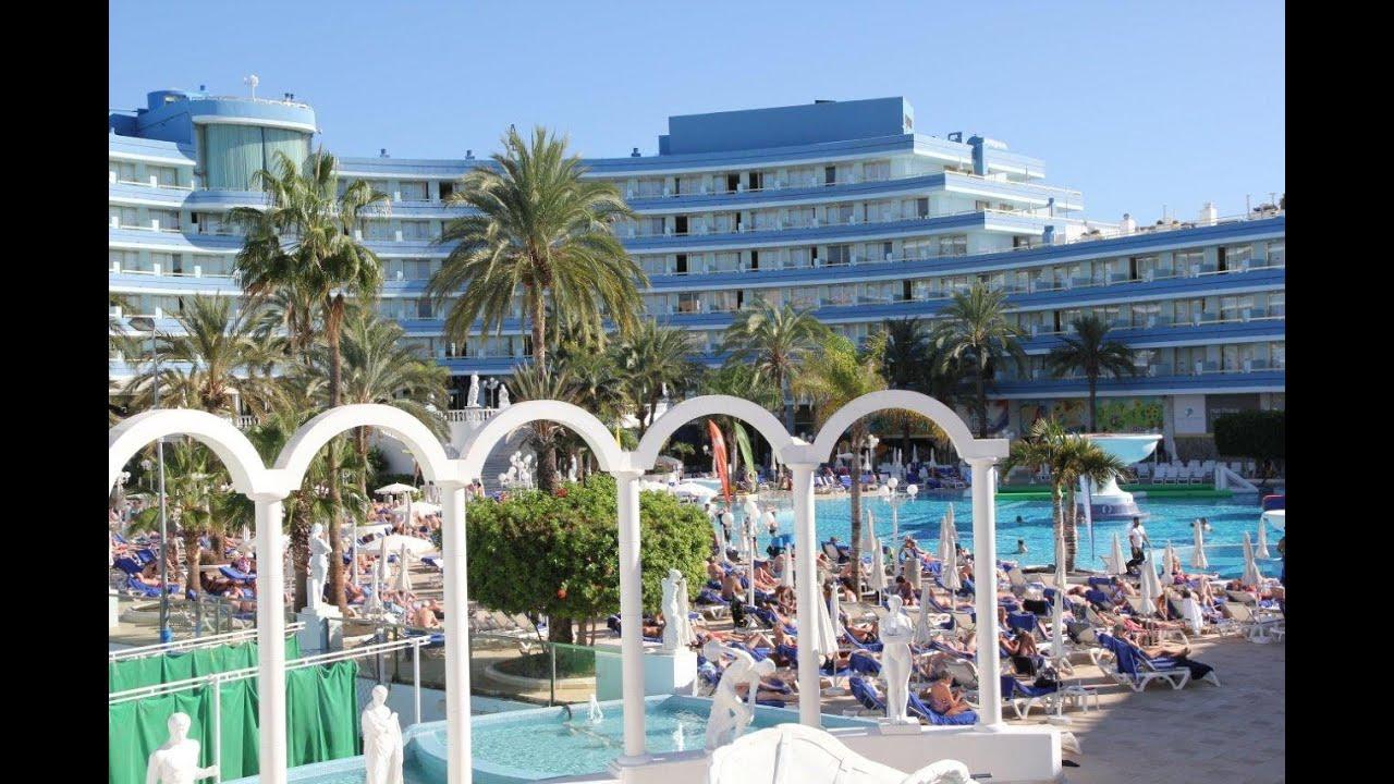hotel mediterranean palace, playa de las americas, tenerife - youtube
