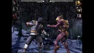 MORTAL KOMBAT X Shirai Ryu & Lin Kuei & Reptile VS Oni & Osh-Tekk & Sub-Zero