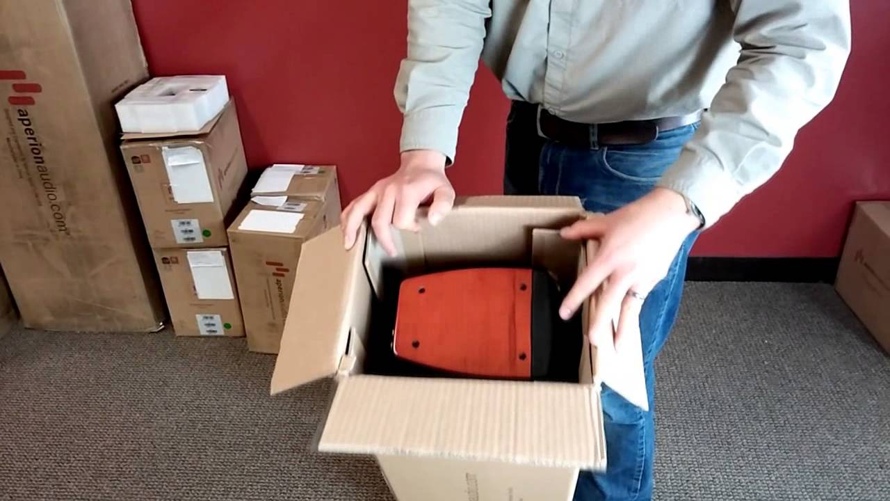 How To Unbox Your Verus Tower Aperion Audio