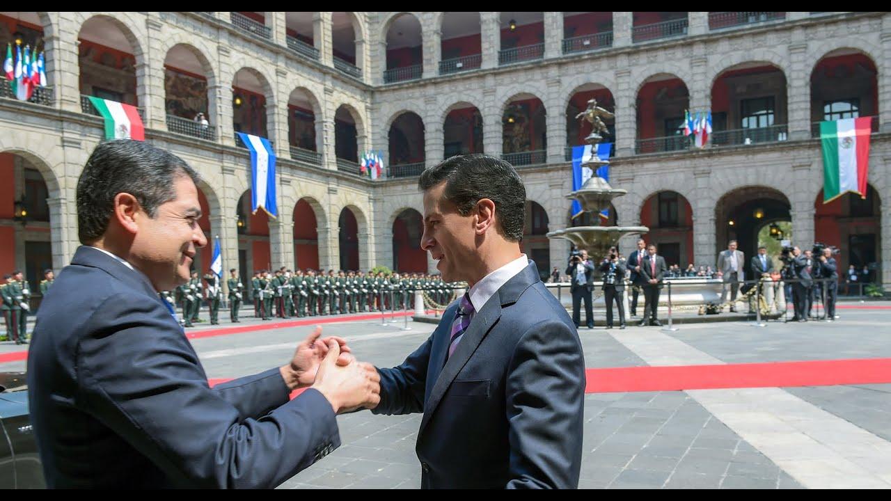 Visita Oficial Presidente De Honduras Juan Orlando Hernández