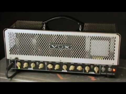 vox night train nt50h head sound test 50w youtube. Black Bedroom Furniture Sets. Home Design Ideas