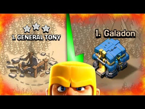GENERAL TONY Vs GALADON! - YOUTUBER HEAD TO HEAD! - Clash Of Clans