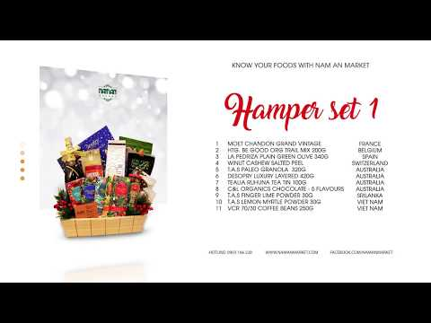 Christmas & New Year Hampers   Nam An Market