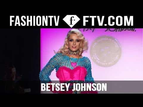 A Celebration of 50 Years in Design! Betsey Johnson at New York Fashion Week! | FTV.com