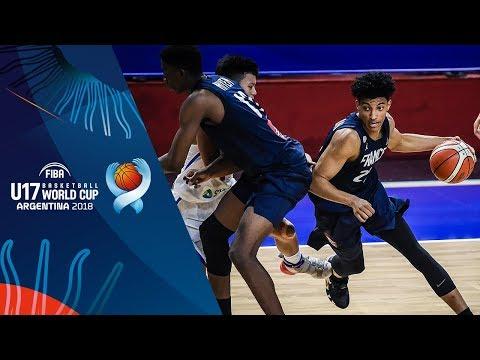 France def. Batang Gilas, 95-54 (REPLAY VIDEO) FIBA U17 Basketball World Cup 2018