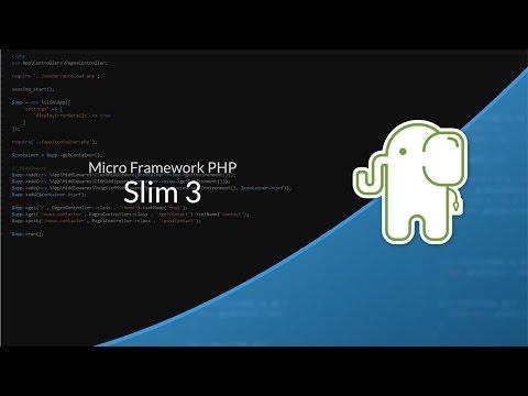 Tutoriel PHP : Slim Framework 3
