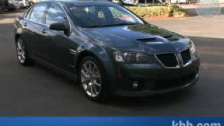2009 Pontiac G8 GXP Interview  - Kelley Blue Book