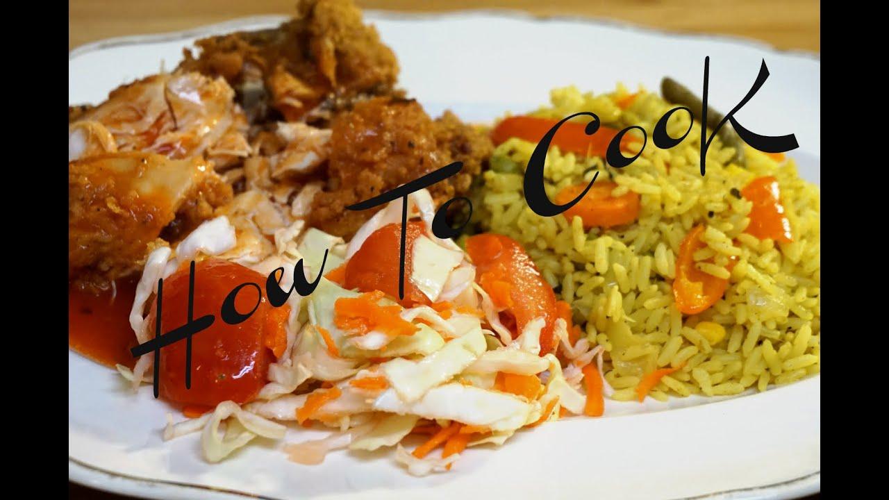 How To Make Vegan Vegetarian Curry Yellow Rice Recipe Jamaican Accent 2016