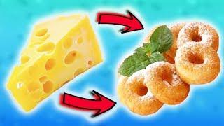 Как сделать Сырные Мини Пончики. Очень Вкусный Рецепт!