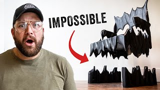 "IMPOSSIBLE Floating ""Flame"" Chair Build 🔥🔥"