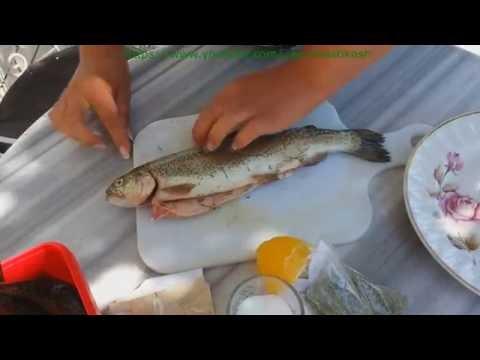 как приготовить рыбу форель видео