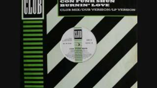 Burning Love (Extended Mix) - ConFunkShun