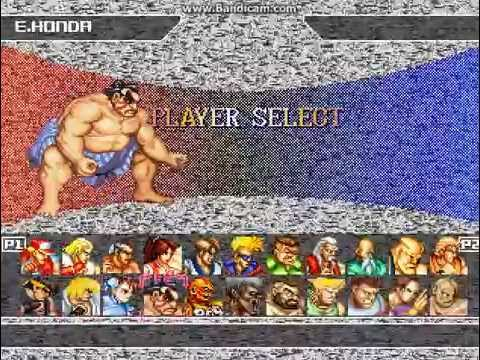 Street fighter mugen characters