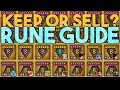 Keep or Sell? Rune Guide in Summoners War!