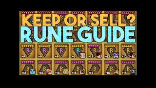 Keep or Sell Rune Guide in Summoners War