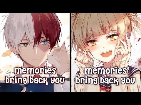Nightcore - Memories (Switching Vocals) - (Lyrics)