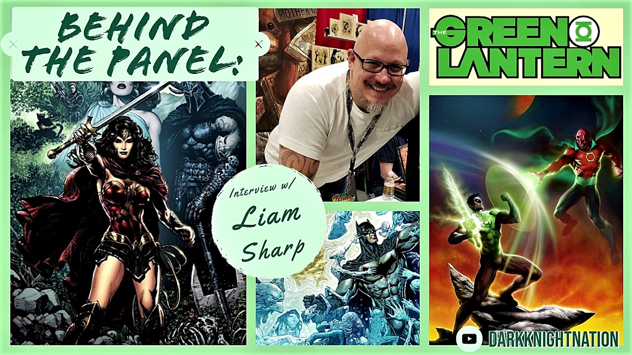 Superstar Artist Liam Sharp, A Comics Conversation l Interview l Behind The Panel