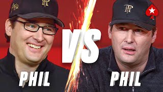 PHIL HELLMUTH VS PHIL HELLMUTH: Can He OUTPLAY Himself? ♠️ PokerStars