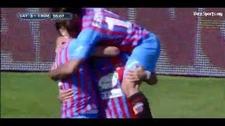 Video Gol Pertandingan Catania vs AS Roma