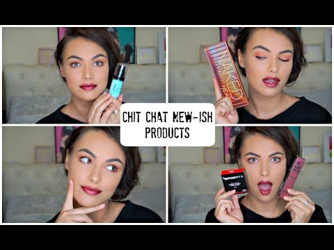 Chit Chat New-ish Products | How i met my boyfriend | Urban Decay Naked Heat Palette