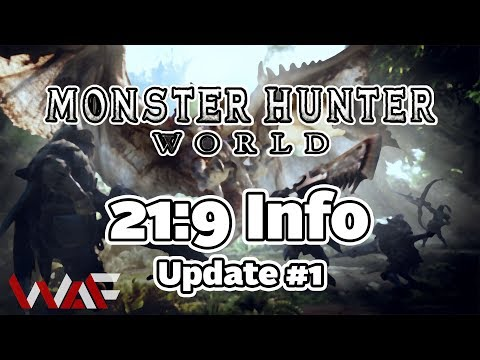 Monster Hunter World | 21:9 Info | Update #1 thumbnail