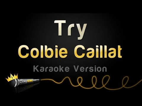 Colbie Caillat - Try (Karaoke Version)