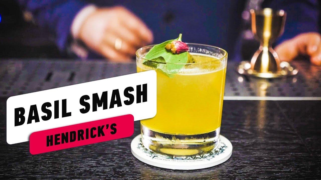 Basil Smash – Рецепт коктейля