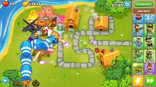 Bloons TD 6 - Hard, Alternate Bloons Round, Town Centre, (NO MONKEY KNOWLEDGE)