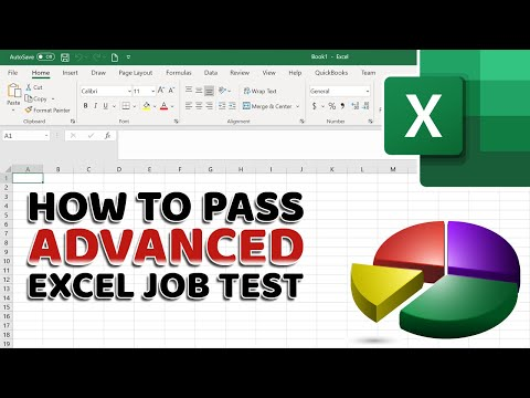 How To Pass Advanced Excel Test For Job Interview
