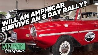 The most ridiculous car for a speed-distance rally