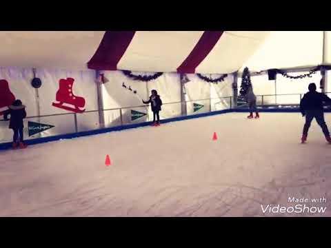 Patinaje sobre hielo colegio La Paz #Albacete