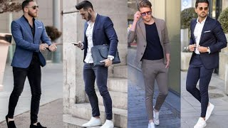 How to Dashing Dress up Blazer Jacket with Jeans Lookbook for Men's | Men's Stylish Fashion 2020