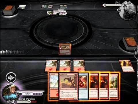 Magic The Gathering MTG Online iPad APP Gameplay