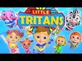 Little Tritans   Nursery Rhymes and Kids Songs   Cartoon Videos for Toddlers by Little Treehouse