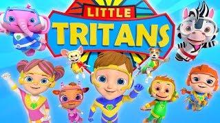 Küçük Tritans   Tekerlemeler ve Çocuk Şarkıları Küçük ağaç Evi ile Çocuklar için Çizgi film   Videoları