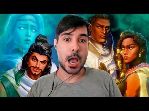 League of Legends: Sentinelas da Luz – Absolvição   HENREACT