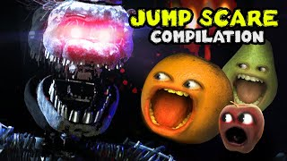 BEST JUMP SCARE MOMENTS!!! (Annoying Orange Gaming Supercut)